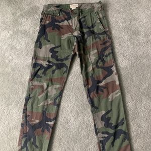 Ralph Lauren Denim & Supply Camo Military Pants 25